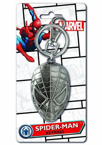 Porte-cles - Spider-man - Masque En Métal