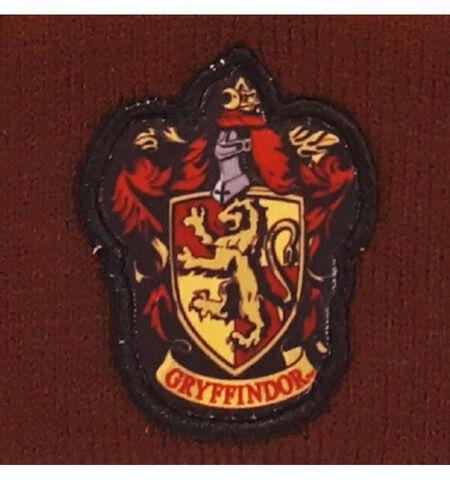 Bonnet - Harry Potter - Gryffondor - Taille unique Bordeaux / Jaune