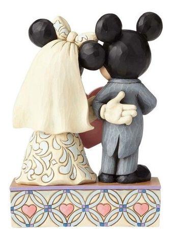 Figurine Disney Tradition -  Mickey et Minnie 18 cm