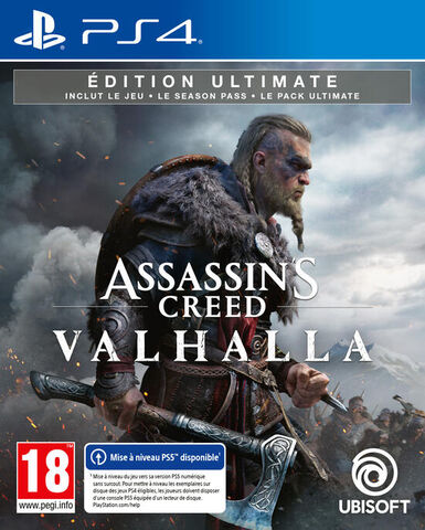 Assassin's Creed Valhalla Edition Ultimate Exclusivite Micromania - Versions PS5 et