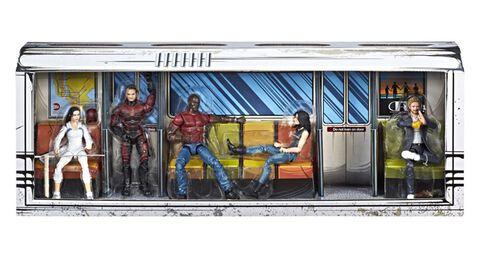 Figurine Diorama - Marvel - Defenders