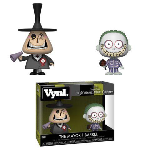 Figurine Vynl - L'Etrange Noël de Monsieur Jack - Twin Pack Maire et Gram