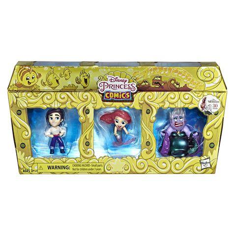 Mini Figurine - La Petite Sirene - Pack 3 Figurines