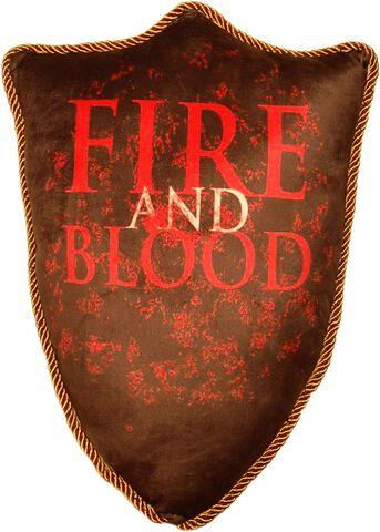 Coussin - Game Of Thrones - Blason Maison Targaryen 56 Cm