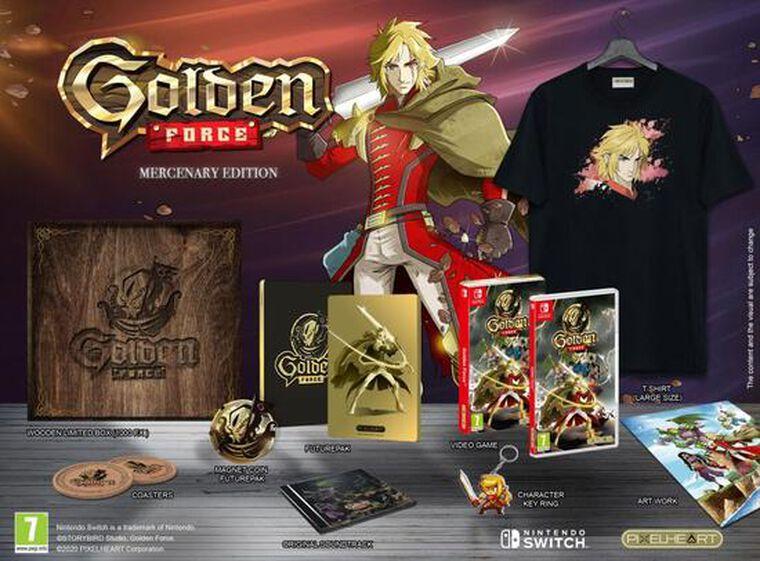 Golden Force Mercenary Edition