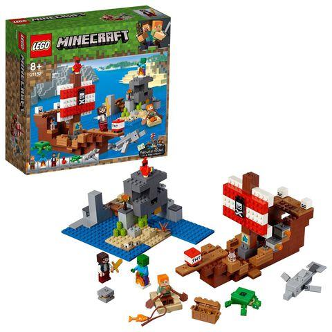 Lego - Minecraft - 21152 - L'aventure du bateau pirate