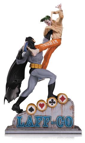 Statuette DC Collectibles - Batman - Batman Vs Joker Laff Co. Battle 34 cm