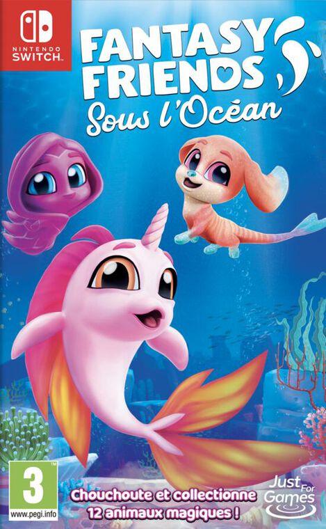 Fantasy Friends Sous L'océan