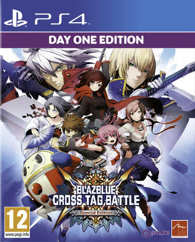 Blazblue Cross Tag Battle Day One Edition