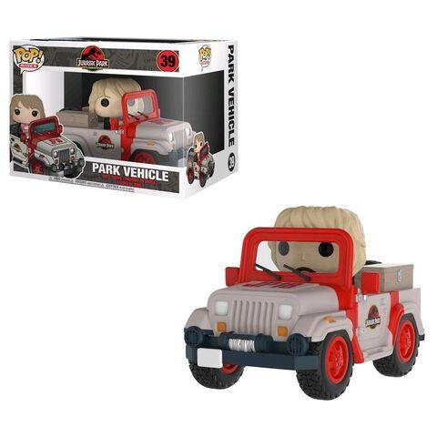 Figurine Funko Pop! N°39 - Jurassic Park - Ride Jeep