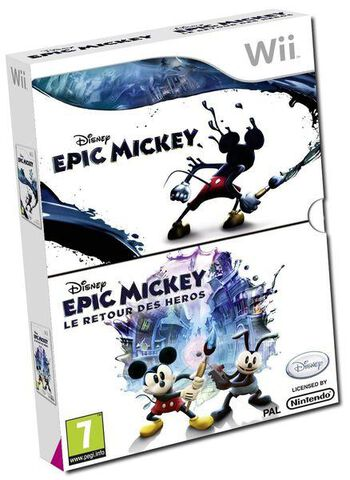 Disney Epic Mickey + Disney Epic Mickey : Le Retour Des Héros