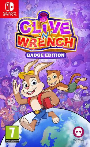 Clive'n' Wrench Badge Edition