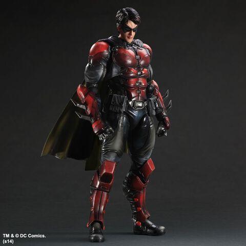 Figurine - Batman Arkham Origins - Play Arts Kai - Robin 27 cm