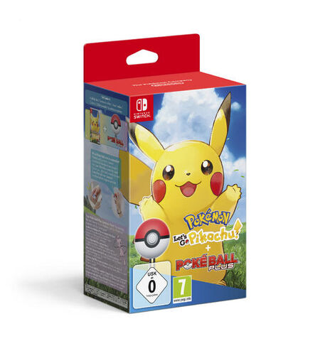 Pokemon Let's Go Pikachu + Poke Ball