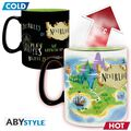 Mug - Disney - Heat Change Peter Pan Neverland 460 ml