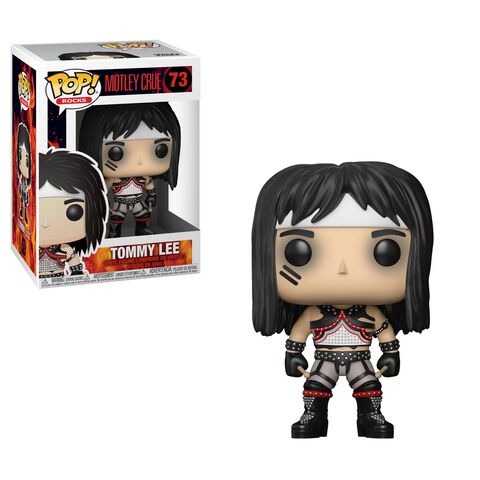 Figurine Funko Pop! N°73 - Motley Crue - Tommy Lee