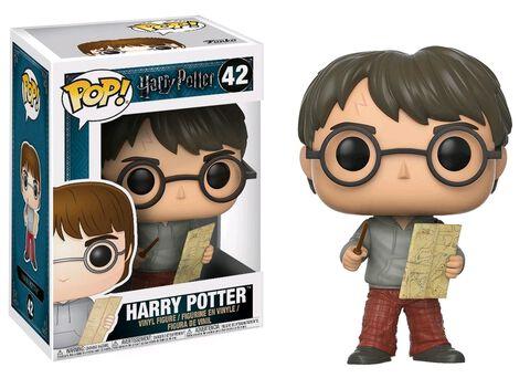 Figurine Funko Pop! N°42 - Harry Potter - Harry avec la carte du Maraudeur