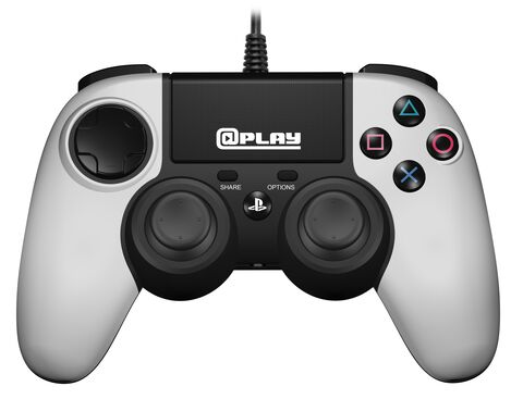 @play Manette Filaire  Blanche Ps4 Officielle Sony