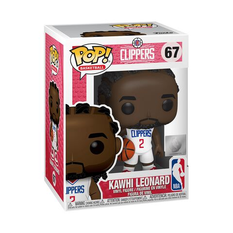 Figurine Funko Pop! N°67 - NBA - Clippers Kawhi Leonard
