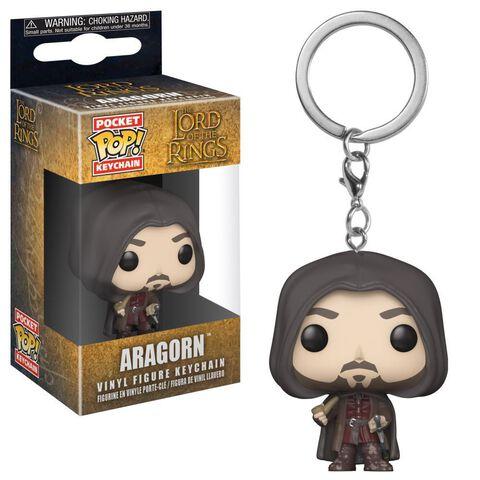 Porte-clés - Le Seigneur des Anneaux - Pop Aragorn