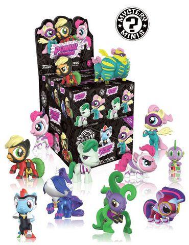Figurine Mystere - Mystery Mini - My Little Pony - Power Ponies Serie 4