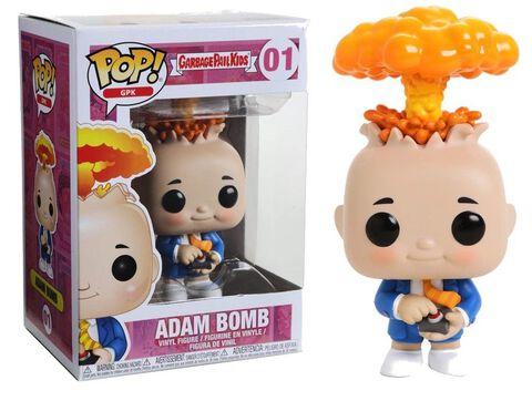 Figurine Toy Pop N°01 - Les Crados - Adam Bomb