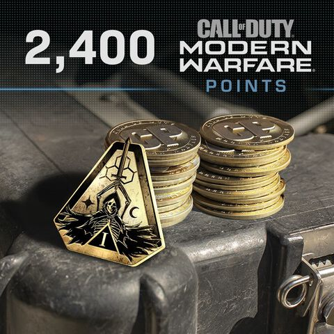 Call Of Duty Modern Warfare - Ps4 - Cod Points - 2400 Pts