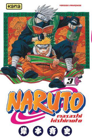 Manga - Naruto - Tome 3