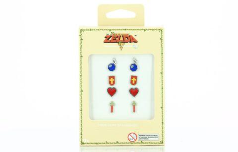 Boucles d'oreilles - Zelda - Lot de 4