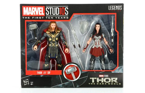 Figurine - Marvel - Marvel Studios 10e anniversaire Thor - Exclusivité Micromania-Zing