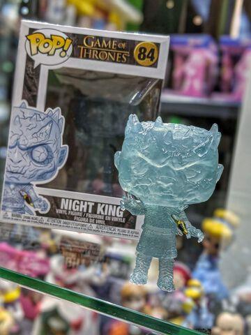 Figurine Funko Pop! N°84 - Game of Thrones - Crystal Night King Dague dans torse