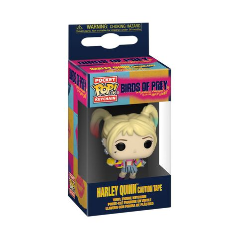 Porte-cles Funko Pop! - Birds Of Prey - Caution Tape