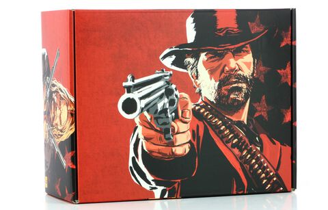 Coffret Collector Red Dead Redemption 2 (jeu non inclus)
