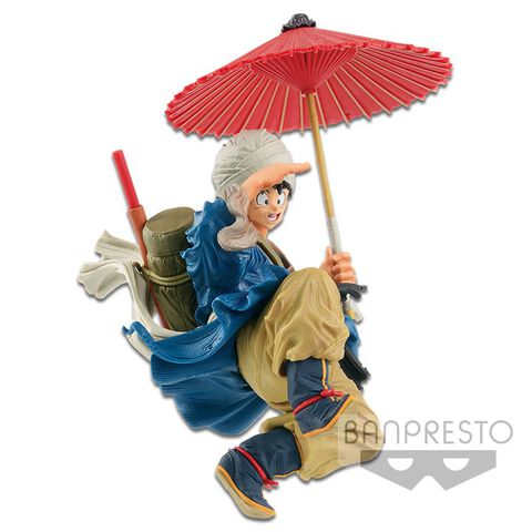 Figurine World Figure Colosseum 2 - Dragon Ball Z - Goku Avec Parapluie Vol. 6
