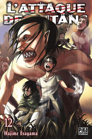 Manga - L'attaque des Titans - Tome 12