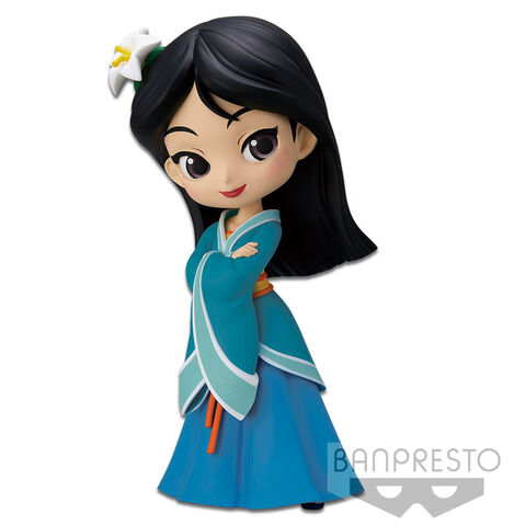 Figurine - Q Posket - Mulan - Royal Style (version A)