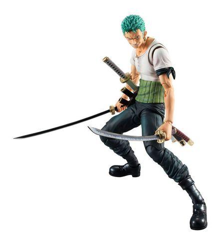 Figurine Megahouse - One Piece - Heroes Roronoa Zoro Past Blue 19 cm