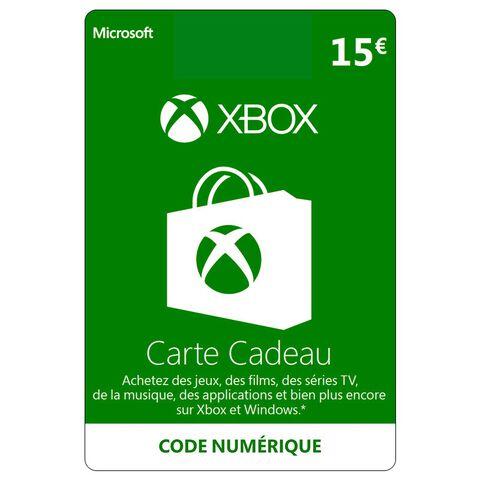Supprimer Carte Bancaire Xbox 360.Xbox Live 15 Euros Xbox 360 Xbox One Xbox One