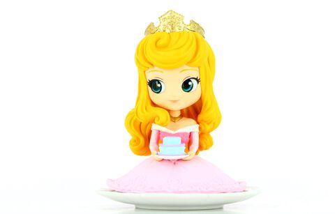 Figurine Q Posket Sugirly - La Belle Au Bois Dormant - Aurora Couleur Pastel