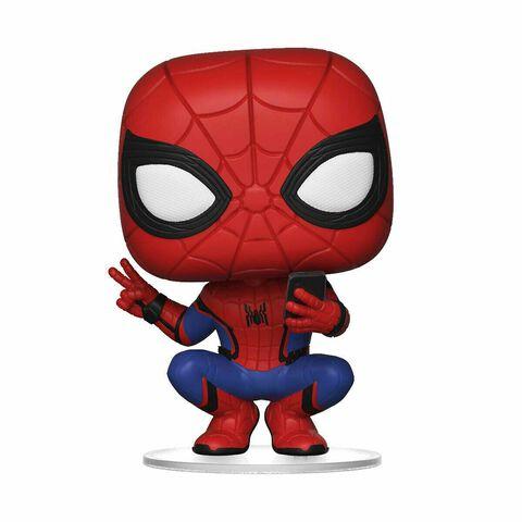 Figurine Funko Pop! N°468 - Spider-Man : Far From Home - Spider-Man