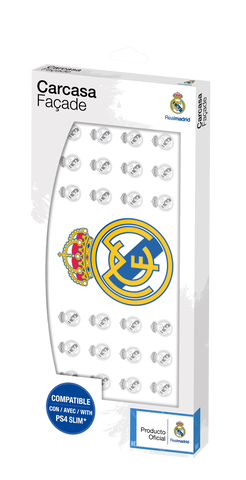Cover Plate Ps4 Slim Real Madrid