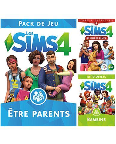 Les Sims 4  - DLC : Chiens et chats + Etre parents + Bambins - Version digitale