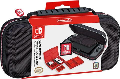Pochette de transport + 4 boitiers de rangement - Licence Nintendo
