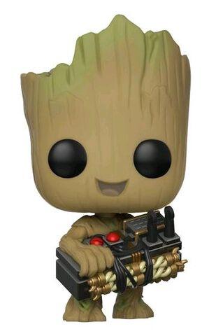 Figurine Funko Pop! N°263 - Les Gardiens de la Galaxie 2 - Groot avec bombe
