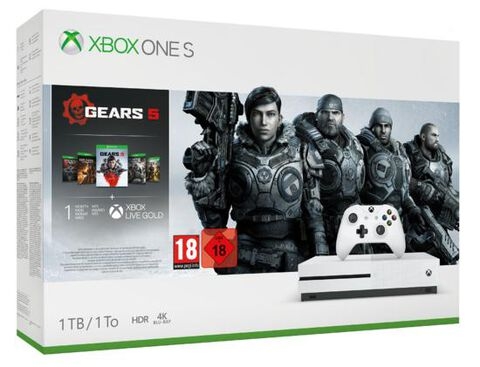 Pack  Xbox One S 1to + Gears 5