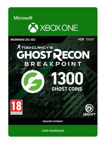 Ghost Recon Breakpoint - Dlc - 1200 (+100) Ghost Coins