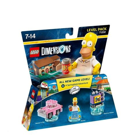 Pack Niveau (Aventure) LEGO Dimensions Homer Simpson - Les Simpson