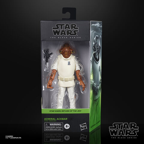 Figurine Black Series - Star Wars - E6 Admiral Ackbar