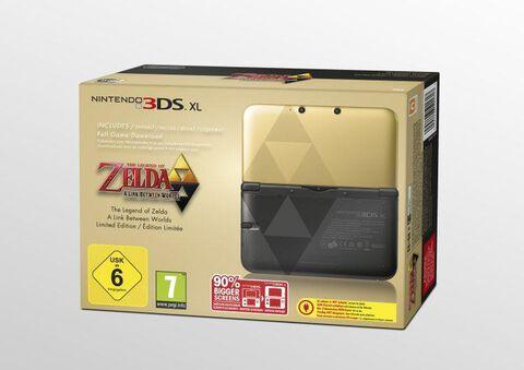 Nintendo 3ds Xl Legend Of Zelda A Link Between Worlds