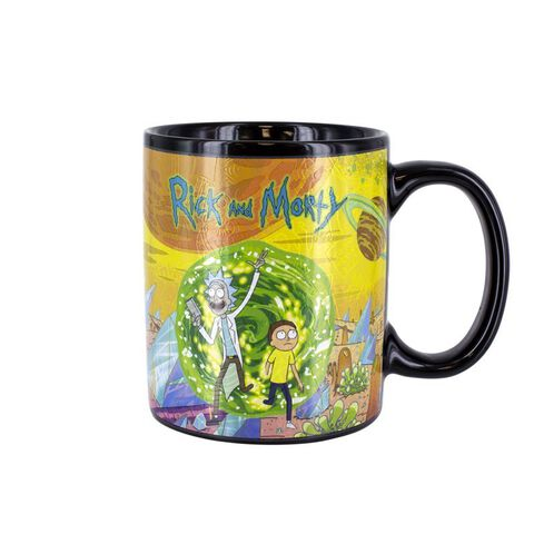 Mug Heat Change - Rick et Morty - Personnages